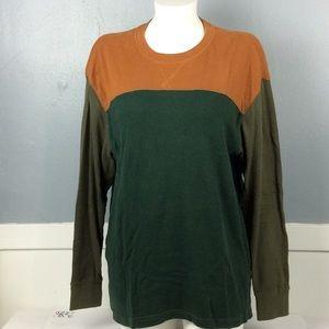 Redhead Mens Color Block Thermal Shirt Sz XL